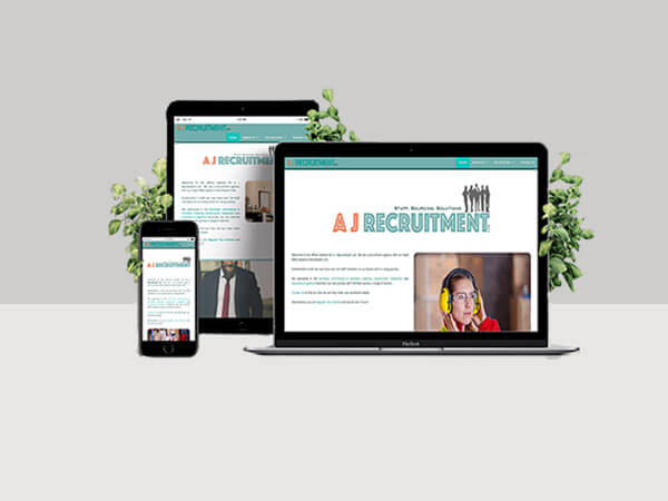 Website Services - AJ Recruitment