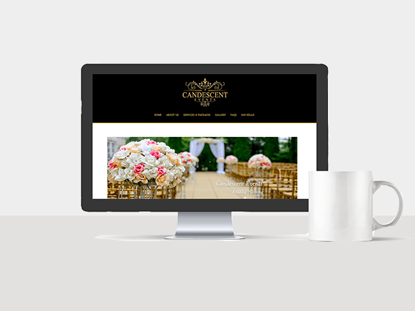 Website Services - Candescent Events