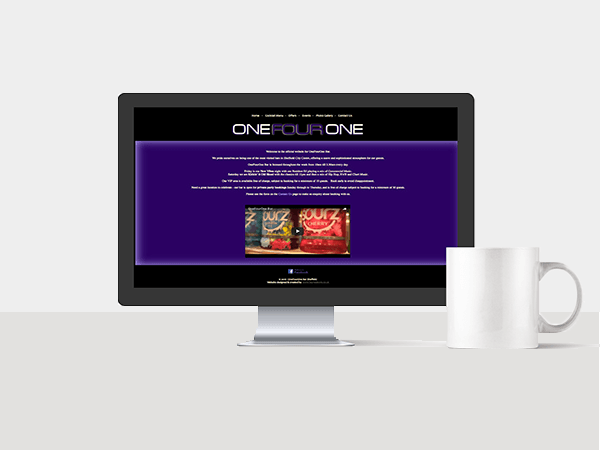 Website Services - One Four One