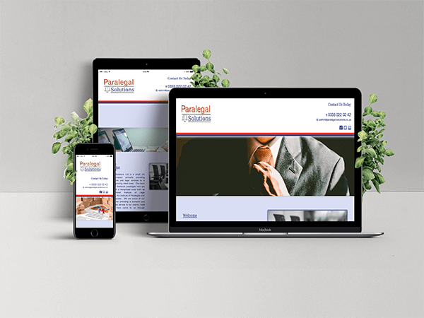 Website Services - Paralegal Solutions