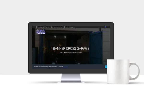 Website Services - Banner Cross Garage
